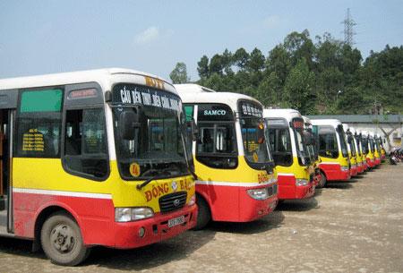 Không miễn thuế nhập khẩu xe buýt chạy bằng khí CNG tại Bình Dương