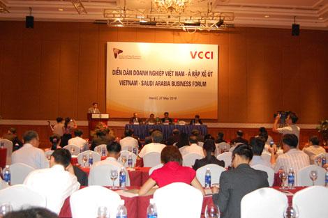 Tăng cường hợp tác giữa DNVN và Ả rập Xê-út