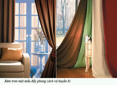 Cách lựa chọn rèm cửa cho nội thất ngôi nhà bạn