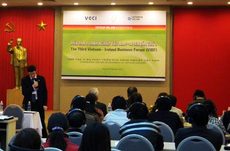 Diễn đàn doanh nghiệp Việt Nam- Ai len: Chia sẻ kinh nghiệm và tăng cường hợp tác