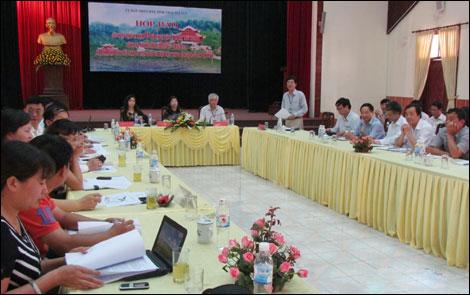 Chuỗi hoạt động kỷ niệm 65 năm Bác Hồ về ATK Định Hóa