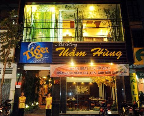 Nhà hàng Thắm Hùng: Nét mới trong ẩm thực Hà Nội