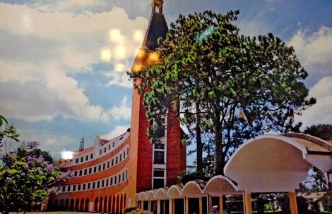 Trường cao đẳng sư phạm Đà Lạt: Một công trình kiến trúc độc đáo