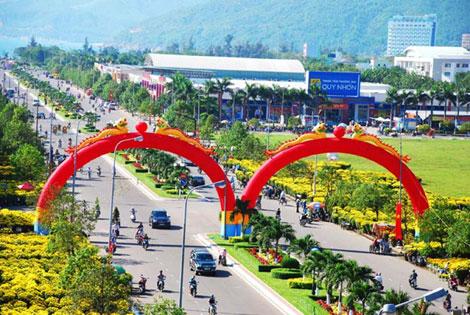 Tp.Quy Nhơn: Vươn tầm trung tâm kinh tế biển quốc gia