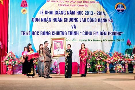 Niềm tự hào của ngành giáo dục Sơn La