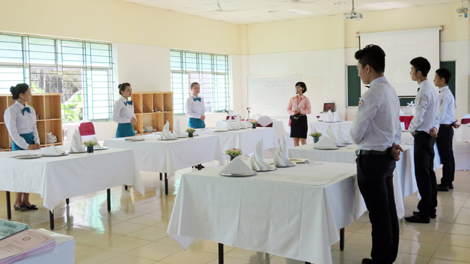 Trường Cao đẳng nghề Du lịch và Dịch vụ Hải Phòng: Hướng tới trường trọng điểm đào tạo cấp độ quốc tế