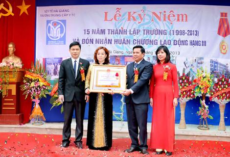 Trường Trung cấp Y tế Hà Giang:  Đào tạo theo nhu cầu xã hội