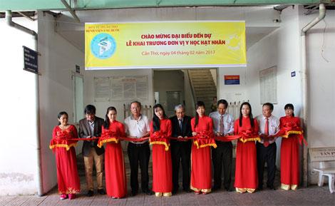 Bệnh viện Ung bướu Tp.Cần Thơ: Xứng tầm Trung tâm Ung bướu đầu ngành của vùng ĐBSCL