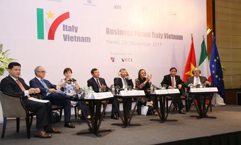 Thúc đẩy quan hệ thương mại giữa doanh nghiệp hai nước Việt Nam- Ý