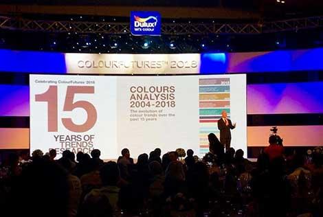 Sơn Dulux giới thiệu xu hướng màu sắc của năm 2018