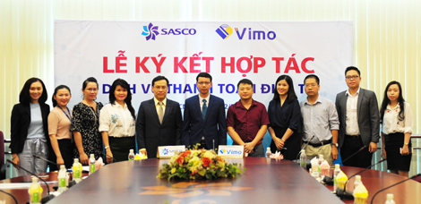 Vimo hợp tác cùng Sasco triển khai dịch vụ thanh toán điện tử cho du khách du lịch Châu Á
