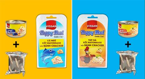 Ra mắt sản phẩm đồ hộp ăn kèm bán cracker