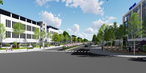 Khu đô thị mới - Trung tâm thương mại thị trấn Đinh Văn: <br>Động lực thúc đẩy đô thị hóa bền vững