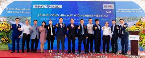 Khởi công xây dựng nhà máy Widia Shinki Việt Nam