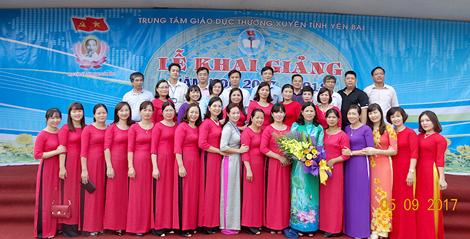Trung tâm Giáo dục thường xuyên tỉnh Yên Bái: Không ngừng nâng cao chất lượng giáo dục
