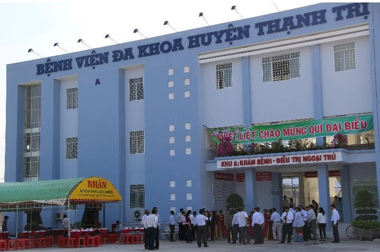 Trung tâm Y tế huyện Thạnh Trị: Điểm tựa vững chắc về chăm sóc và bảo vệ sức khỏe nhân dân
