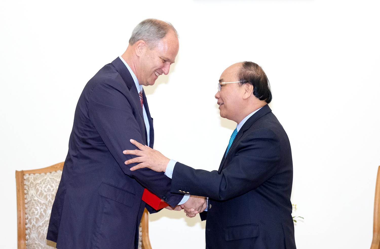 Thủ tướng tiếp Đại sứ CHLB Đức