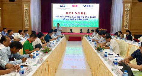VCCI Nghệ An hỗ trợ doanh nghiệp kết nối cung cầu nông sản sạch