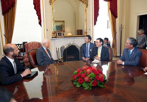 Tổng thống Donald Trump muốn thúc đẩy quan hệ Hoa Kỳ-Việt Nam