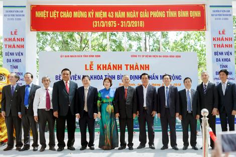 Bệnh viện Đa khoa tỉnh Bình Định - Phần mở rộng Hướng đến mô hình  bệnh viện khách sạn cao cấp