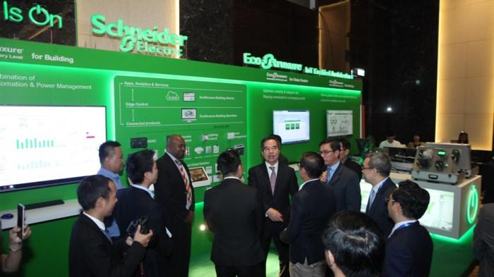 Schneider Electric mang đến giải pháp EcoStruxureTM Building cho thành phố thông minh