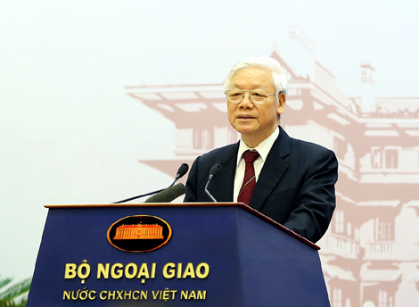 Công tác đối ngoại là điểm sáng trong thành tựu chung của đất nước