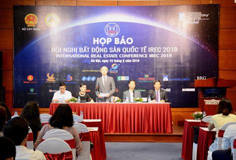 Lần đầu tiên Việt Nam đăng cai tổ chức hội nghị bất động sản quốc tế