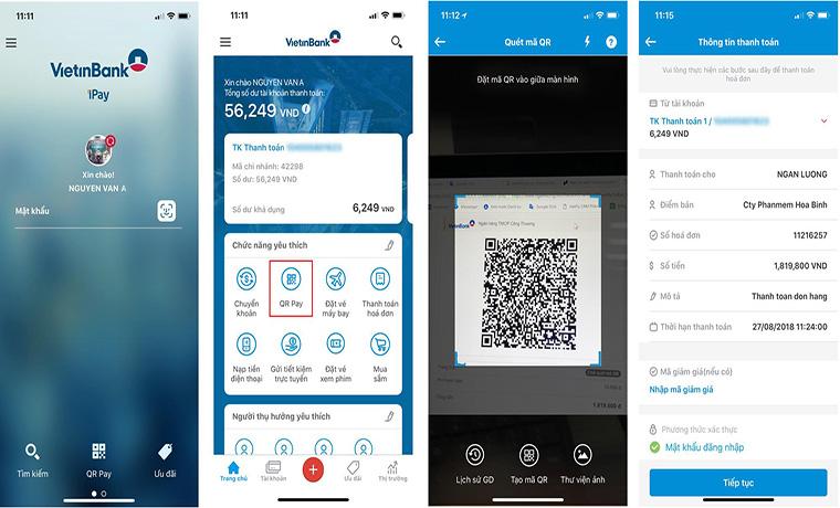 Ngân Lượng mở kênh thanh toán QR-Pay qua ứng dụng mobile banking của 15 ngân hàng