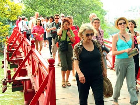 Tháng 2 lập kỷ lục khách quốc tế đến Việt Nam