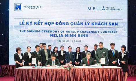Tập đoàn Meliá Hotels International dự kiến ra mắt Khách sạn Meliá Ninh Bình vào năm 2020