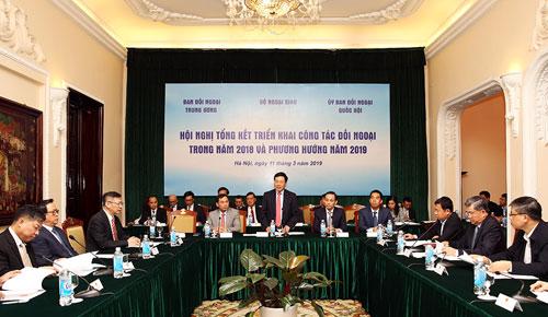 Tiếp tục nâng tầm ngoại giao đa phương trong năm 2019