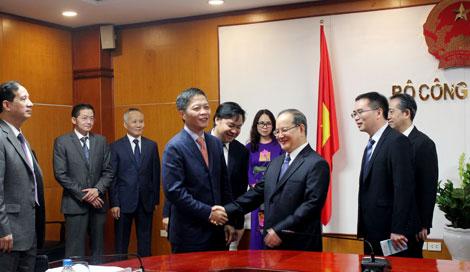Tăng cường hợp tác với tỉnh Quảng Tây, Trung Quốc