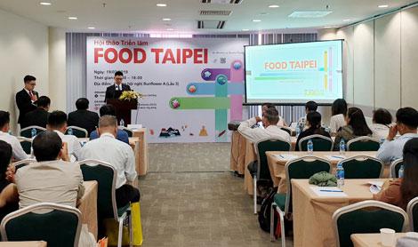Khởi động FOOD TAIPEI 2019: Triển lãm xúc tiến giao thương lớn nhất ngành Thực phẩm châu Á