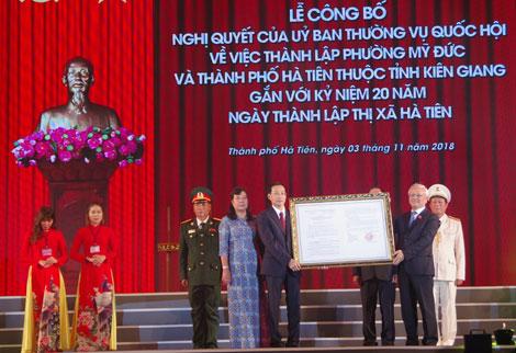 Hà Tiên Thành phố trẻ năng động  bậc nhất vùng biên giới Tây Nam