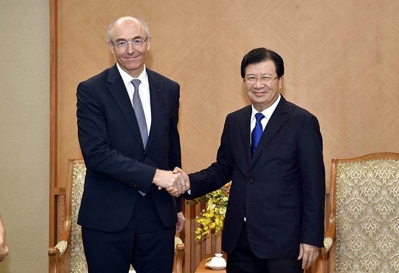 Khuyến khích doanh nghiệp Pháp mở rộng đầu tư tại Việt Nam