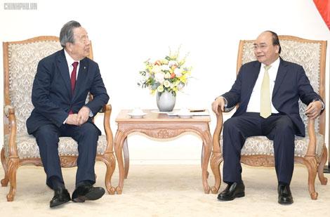 Thủ tướng tiếp Chủ tịch Tập đoàn Maruhan, Nhật Bản