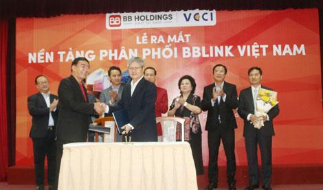 VCCI-HCM và BB Việt Nam chính thức ra mắt nền tảng phân phối mới ưu việt