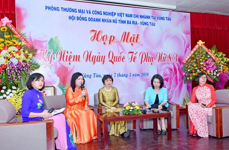 Giám đốc VCCI Vũng Tàu Vũ Thị Thu Hà: Người phụ nữ nhiệt huyết, bản lĩnh