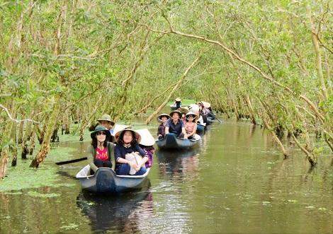 Kỳ quan xanh nơi hạ lưu dòng Mekong