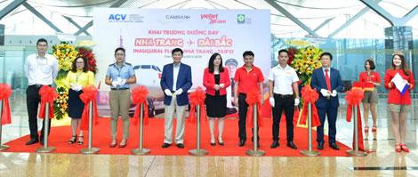 Vietjet khai trương đường bay quốc tế Nha Trang – Đài Bắc (Đài Loan)
