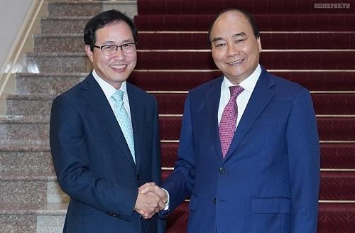 Thủ tướng tiếp Tổng Giám đốc Tổ hợp Samsung