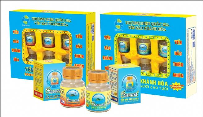 Yến sào Khánh Hòa ra mắt sản phẩm nước yến sào Sanest dành cho người cao tuổi