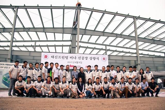 Công ty TNHH Taixin Printing Vina: Phát huy lợi thế công nghệ