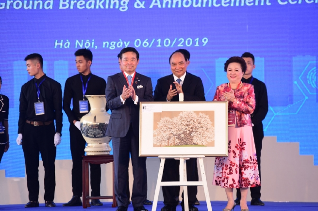 Hà Nội: Chính thức động thổ siêu dự án Thành phố thông minh hơn 4 tỷ USD