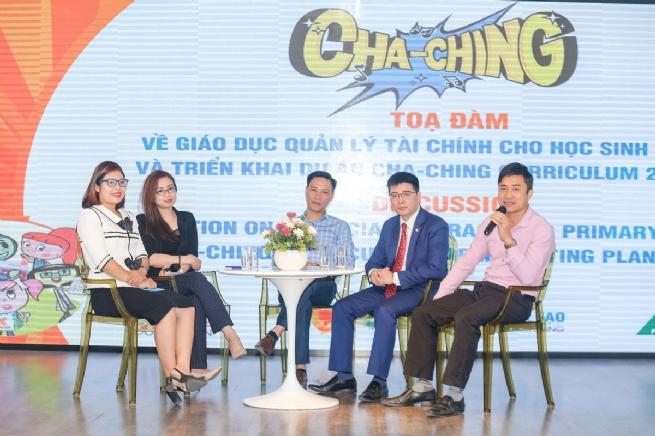 Quỹ Prudence và JA Việt Nam triển khai Giáo trình quản lý tài chính Cha-Ching tại trường Tiểu học Hà Nội
