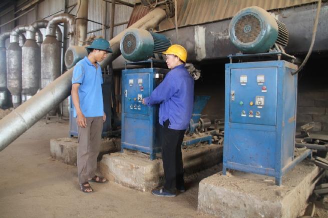 Sản xuất than sinh học  góp phần bảo vệ môi trường