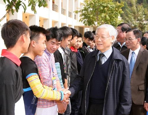 Trường THPT Dân tộc nội trú tỉnh Sơn La: Chiếc nôi đào tạo nhân lực cho tỉnh