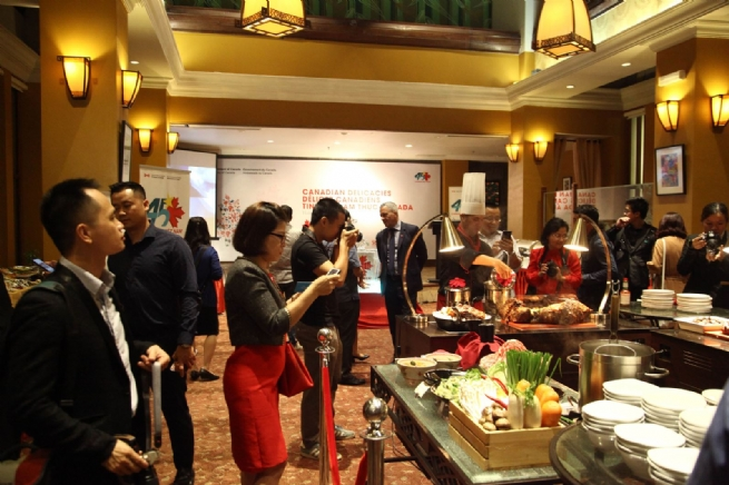 Xuất khẩu thực phẩm và hải sản của Canada vào Việt Nam ngày càng tăng