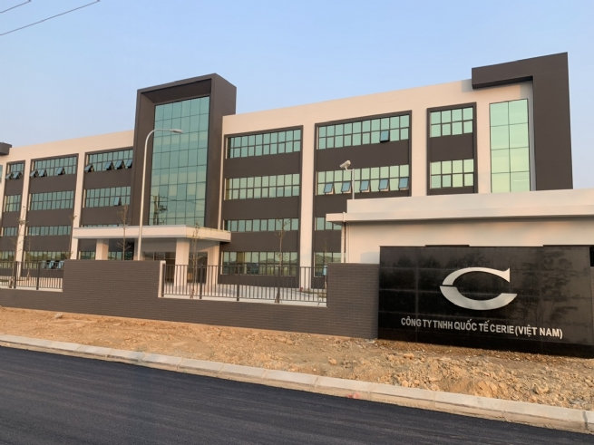 Công ty TNHH Quốc tế CERIE Việt Nam (KCN Bình Xuyên 1): Tuyển dụng nhiều vị trí trong năm 2020