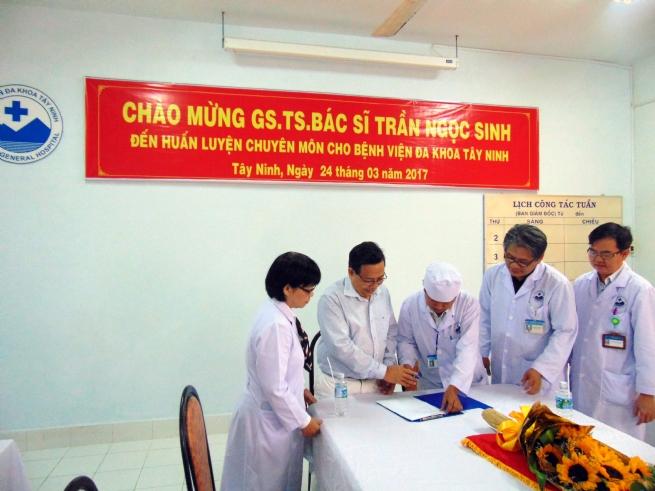 Bệnh viện Đa khoa tỉnh Tây Ninh: Luôn nỗ lực hoàn thành nhiệm vụ bảo vệ và chăm sóc sức khoẻ nhân dân